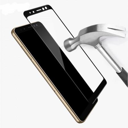 Folie de sticla Samsung Galaxy J4, 9D FULL GLUE Negru