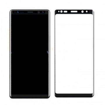 Folie de sticla Samsung Galaxy Note 8 FULL GLUE cu margini negre Elegance Luxury