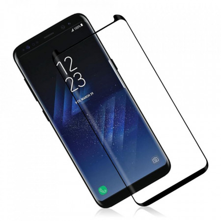 Folie de sticla Samsung Galaxy S8 Plus, Black case frendly Elegance Luxury