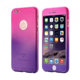 Husa Apple iPhone 6/6S, FullBody Elegance Luxury Degrade, acoperire completa 360 grade cu folie de sticla gratis