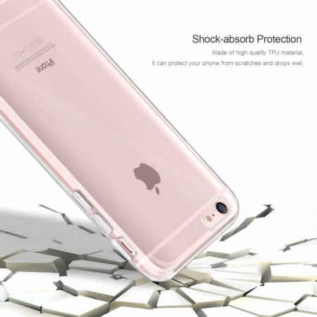 Husa Apple iPhone 6/6S, FullBody ultra slim TPU , acoperire completa 360 grade