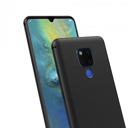 Husa pentru Huawei MATE 20 , Perfect Fit , Silicon TPU Negru