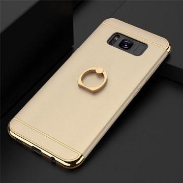 Husa Samsung Galaxy J3 2017, Elegance Luxury 3in1 Ring Auriu