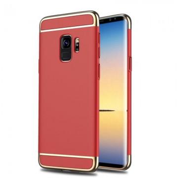 Husa Samsung Galaxy S9, Elegance Luxury 3in1 Rosu