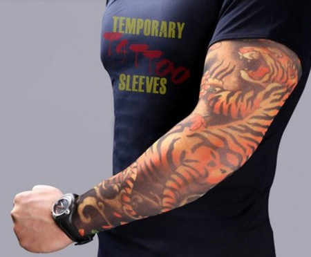 Maneca tatuata MyStyle® 3D Print - Imita un tatuaj real 100% - Body art tattoo maneca V4 2019