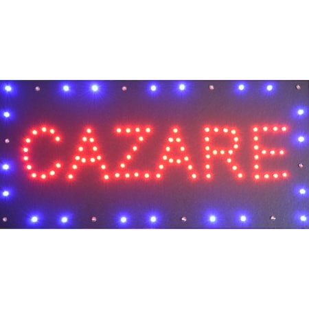 Reclama Text LED - Cazare/ animatie luminoasa dinamica NOU
