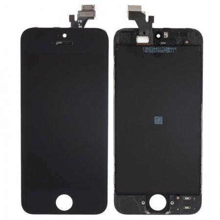 Display LCD compatibil Iphone 5S, Negru