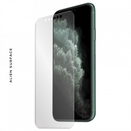 FOLIE ALIEN SURFACE HD, Apple iPhone 11 PRO, PROTECTIE ECRAN + ALIEN FIBER CADOU