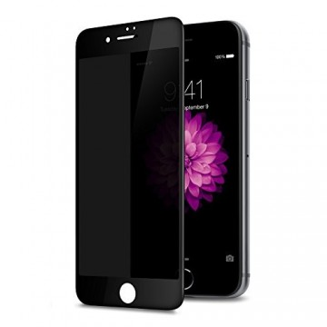 Folie de sticla 5D Apple iPhone 8 Plus, Privacy Glass, folie securizata duritate 9H