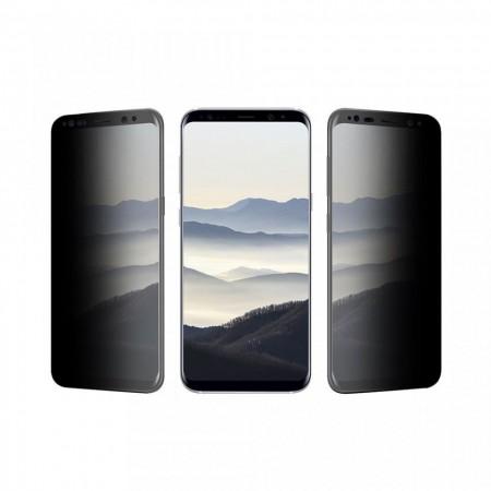Folie de sticla 5D Huawei MATE 20 Lite, Privacy Glass Elegance Luxury, folie securizata duritate 9H