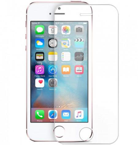 Folie de sticla Apple iPhone 5/5S/SE, Case Friendly Transparenta