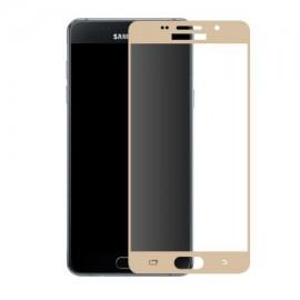 Folie de sticla Samsung Galaxy J7 2017, Elegance Luxury margini colorate Gold