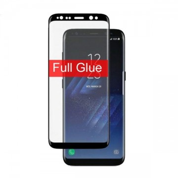 Folie de sticla Samsung Galaxy S8 FULL GLUE cu margini negre Elegance Luxury