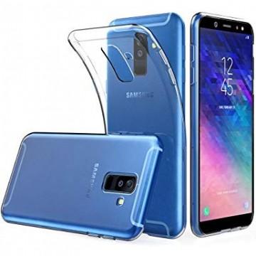 Husa Samsung Galaxy A6 Plus, Silicon TPU Slim Transparenta