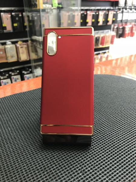 Husa Samsung Galaxy Note 10 , Elegance Luxury 3in1 Rosu