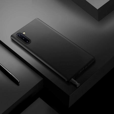 Husa Samsung Galaxy Note 10, silicon slim antisoc Negru