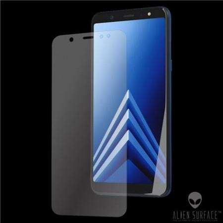 Folie Alien Surface HD, Samsung GALAXY A6 Plus (2018), protectie spate,laterale + Alien Fiber Cadou