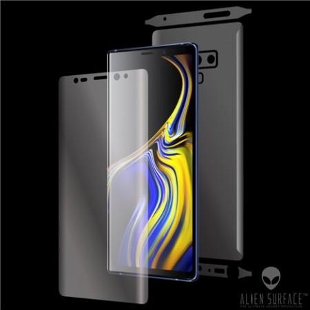 Folie Alien Surface HD, Samsung GALAXY NOTE 9 fata, spate, laterale + Alien Fiber Cadou
