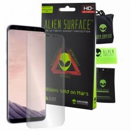 Folie Alien Surface HD, Samsung GALAXY S8 Plus, protectie ecran + Alien Fiber Cadou