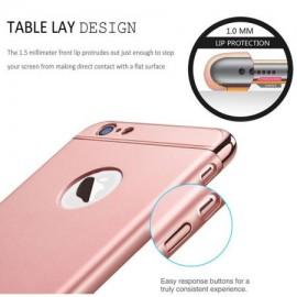 Husa Apple iPhone 6 Plus/6S Plus, Elegance Luxury 3in1 Rose-Gold