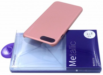 Husa Apple iPhone X, Elegance Luxury X-LEVEL Metalic Rose-Gold