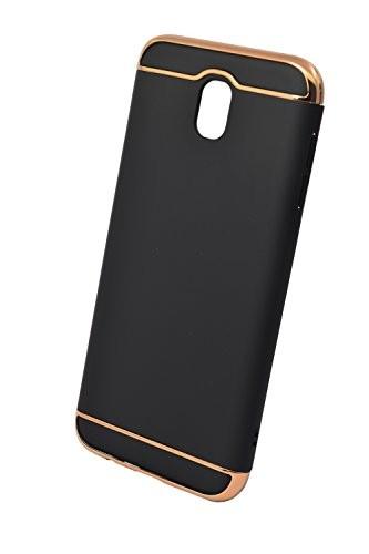 Husa Samsung Galaxy J7 2017, Elegance Luxury 3in1 Negru