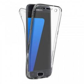 Husa Samsung Galaxy S7, FullBody 360º ultra slim TPU, acoperire fata spate
