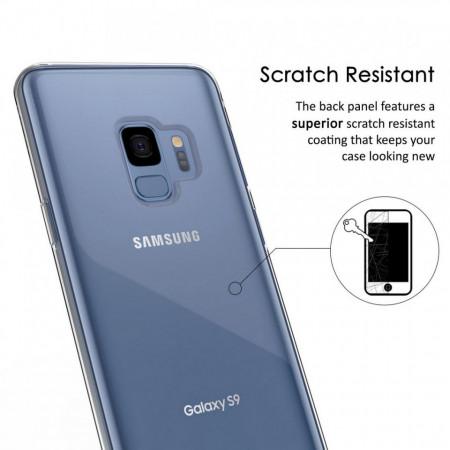 Husa Samsung Galaxy S9, FullBody 360º ultra slim TPU, acoperire fata spate