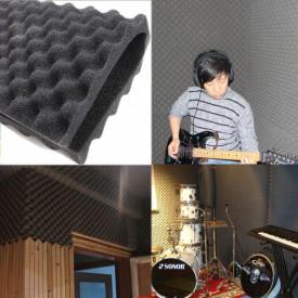 Burete acustic & izolator fonic pentru Studio / Home Cinema 200x100x5 cm