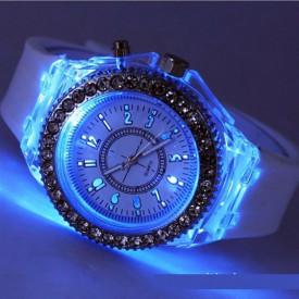 Ceas Activ LED - Jocuri de lumina 7 culori
