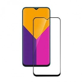 Folie de sticla Samsung Galaxy A10, 3D FULL GLUE Negru