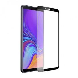 Folie de sticla Samsung Galaxy J6 2018, 9D FULL GLUE Negru