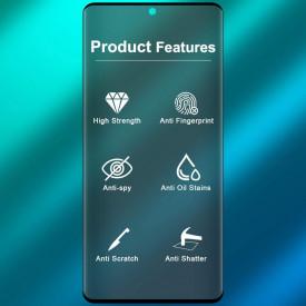 Folie de sticla Samsung Galaxy S20 Plus, Privacy Glass, folie securizata duritate 9H