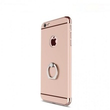 Husa Apple iPhone 6/6S , Elegance Luxury 3in1 Ring Rose-Gold