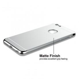 Husa Apple iPhone 7, Elegance Luxury 3in1 Silver