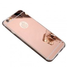 Husa Apple iPhone 8, Elegance Luxury tip oglinda Rose-Gold