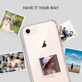 Husa Apple iPhone 8, Silicon TPU 2.0mm slim Transparenta