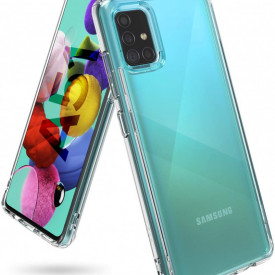 Husa Samsung Galaxy A51, Silicon TPU 2.0mm Transparenta