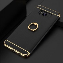 Husa Samsung Galaxy J5 2017, Elegance Luxury 3in1 Ring Negru