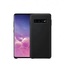 Husa Samsung Galaxy S10, Silicon antisoc, Negru