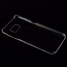 Husa Samsung Galaxy S6 Edge, slim din plastic tare transparent