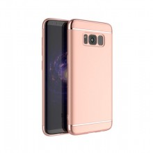 Husa Samsung Galaxy S8, Elegance Luxury 3in1 Rose-Gold