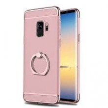 Husa Samsung Galaxy S9, Elegance Luxury 3in1 Ring Rose-Gold