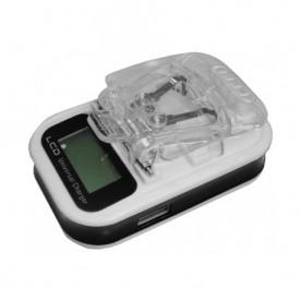 Incarcator universal pentru baterii cu lamele, ecran LCD si iesire USB
