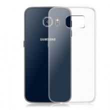 Pachet husa Elegance Luxury TPU slim transparenta pentru Samsung Galaxy S6 cu folie de sticla gratis