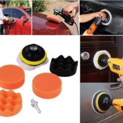 Polish auto profesional - Kit10 piese + adaptor bormasina , taler M14 - Bureti cu diferite clase de abraziune
