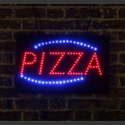 Reclama Text LED - Pizza/ animatie luminoasa dinamica NOU
