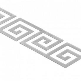 Set Oglinzi Design Versace - Oglinzi Decorative Acrilice Silver Plated - Luxury Home 24 bucati/set