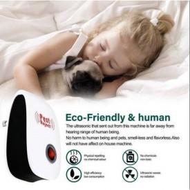 Aparat anti Daunatori Ultrasonic pentru gandaci, muste, tantari, furnici ,paianjeni , soareci ,Ultrasonic Pest Reject