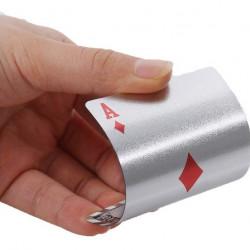 Carti de joc Silver Casino Poker, aspect Dolar $